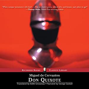 Don Quixote: Translated by Edith Grossman Audiobook
