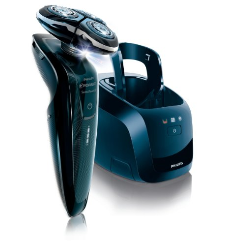 Philips Norelco 1250xcc/42 SensoTouch 3d Electric Shaver with Jet Clean System, Black