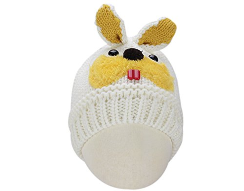 BONAMART ® Baby Boys Girls Kids Beanie Hat Cap Animal Rabbit 6-48 months