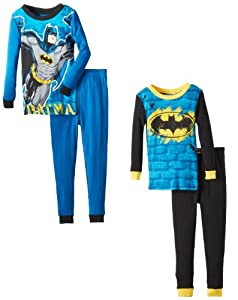 Komar Kids Boys 2-7 Batman 2 For 1 Cotton Sets at Gotham City Store