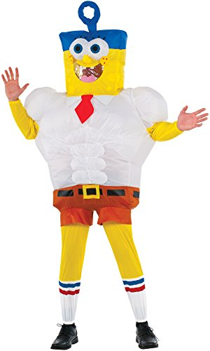 Rubie's Costume Co Men's SpongeBob Movie Inflatable SpongeBob Costume