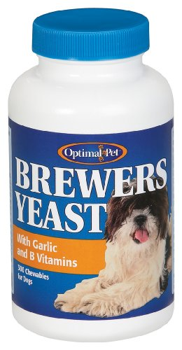 Optimal Pet - Brewer's Yeast With Garlic, 300 chewable tablets