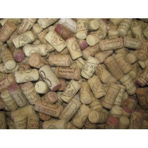 Assorted Printed Wine Corks, 100, Only Real Corks, No Synthetics - For Crafts!