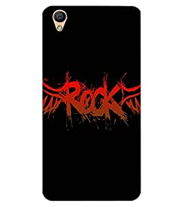 ColourCraft Quote Design Back Case Cover for OPPO R9