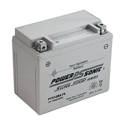 Power-Sonic (PTX12BS-FS) Sealed Maintenance Free Powersport Battery