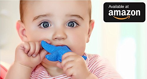 WowieStar-USA-FDA-Certified-Medical-Grade-Silicone-Baby-Teether-Teething-toy-Caribbean-Blue-Reduce-Tooth-Ache-Massage-Sore-Gums-Perfect-Baby-Gift-Baby-Shower-Gift-Made-in-USA-fun-bath-toy