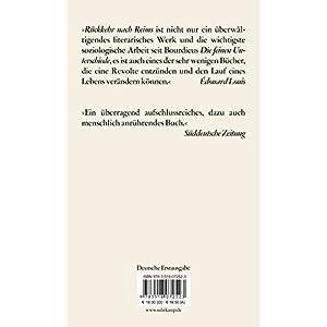 Rückkehr nach Reims (edition suhrkamp)