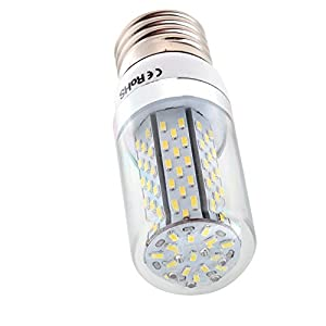 6X E27 Base 8W LED Corn Bulb 120 SMD 3014 LED Bulb Lamp 750-800LM Warm White AC 85-220V by MUMENG