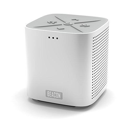 Beacon Audio Blazar Portable Bluetooth Stereo Speaker (Aluminum)