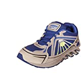 Jollify Men's Grey And Blue Sport Shoes