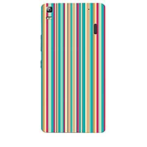 Skin4gadgets STRIPES PATTERN 18 Phone Skin for LENOVO A7000