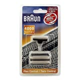 Braun Shaver 4000 Series Foil and Cutterblock for Flex Control ...