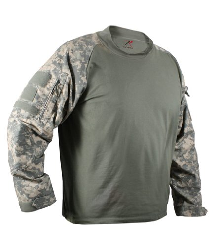 ROTHCO MILITARY COMBAT SHIRT - ACU DIGITAL CAMO