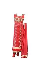 Anjali Women's Georgette Dress Material (Anj16_Multi)