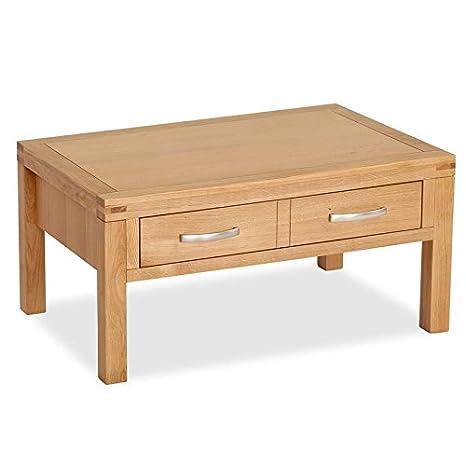 Abbey naturale tavolino con cassetto