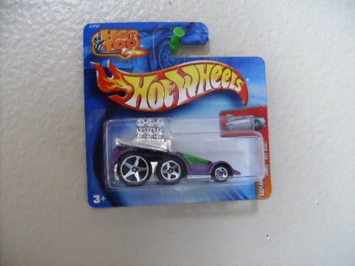 Hot Wheels Tooned' Sixy Beast 2004 on Hot 100 Short Card First Editions #96 Purple W/5sp's - 1