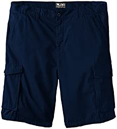 LRG Men\'s Big-Tall Research Collection Cargo Short, Nautical Blue, 40