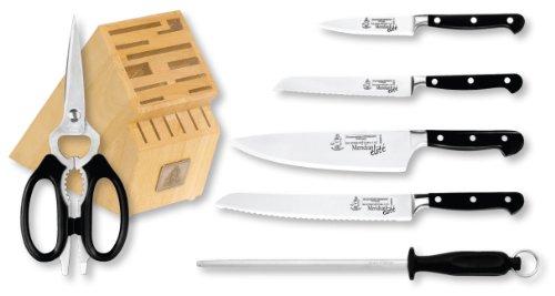ae12efef8d7 Messermeister Meridian Elite 7 Piece Knife Block Set ...
