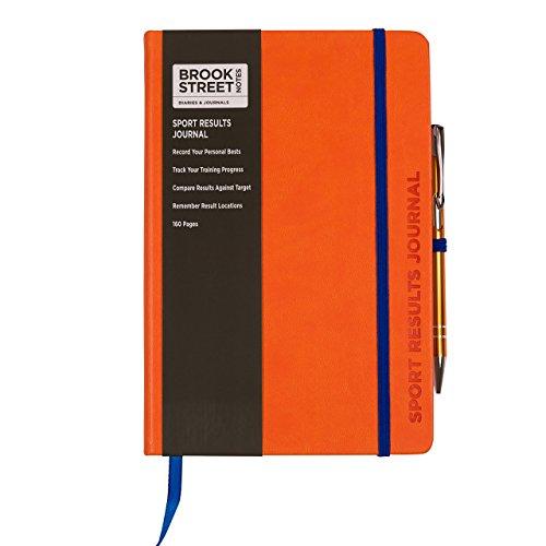 sport-results-notebook-hardback-a5-sports-gift-bright-orange