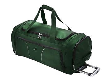 Skyway Luggage Sigma 4 30 Inch 2 Wheel Rolling Duffel, Midnight Green, One Size