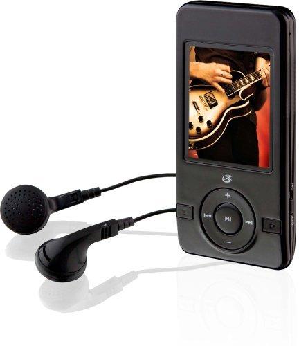 GPX ML651B GPX Digital Media Player with 4 GB Installed Flash Memory - Black (ML651B)