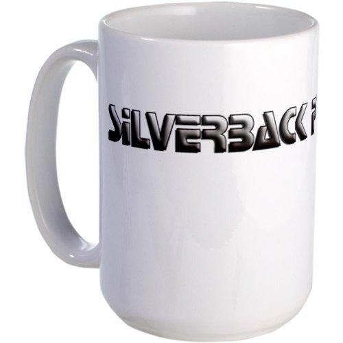 Cafepress Gamers Silverback Pwns Large Mug - Standard