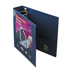 AVE79802 - Nonstick Heavy-Duty EZD Reference View Binder