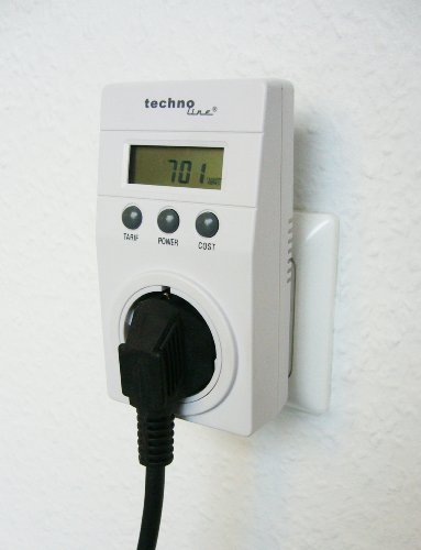 Technoline Cost Control Energiekostenmessger&#228;t wei&#223;