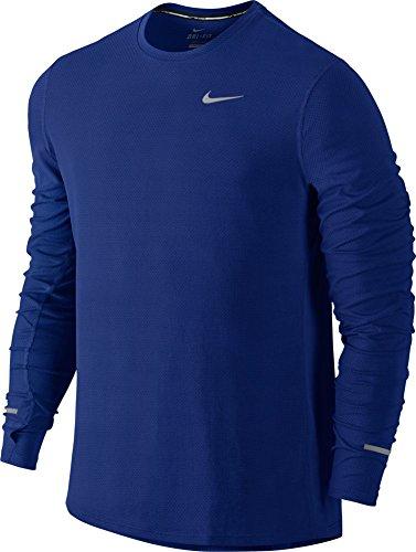 Nike Men's Dri-Fit Contour Long Sleeve - X-Large - Deep Royal Blue