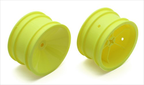 ASSOCIATED 6805Y 2.2 Rear Wheel 3/16 Yellow RC10 Classic - 1