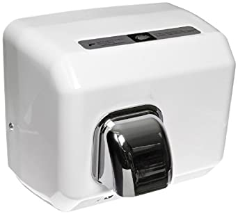 "Impact 4070T Touchless Hand Dryer, 120V/15A, 11"" Length x 9"" Width x 9"" Height, White"