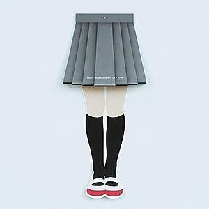 スカートめくりカレンダー 2015 (グレー)