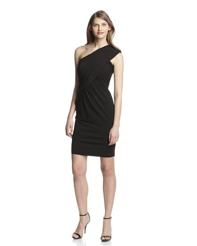 Aida Women's One Shoulder Jersey Dress