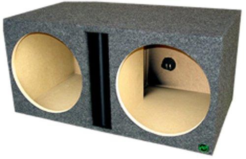 Audio Enhancers 1V213Dc Subwoofer Enclosure Box, Carpeted Finish