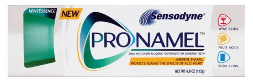 Sensodyne ProNamel Mint Essence Toothpaste, 4 oz. (Pack of 4)