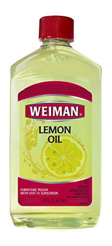 Weiman Lemon Oil Furniture Polish, 16 fl oz