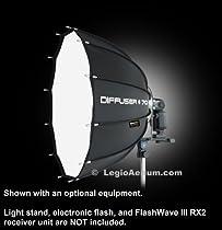 "Speedbox Diffuser-70 - Professional 28"" (28"" x 27"") Rigid Dodecagon Portable Softbox for Canon Flash Speedlite, Nikon Speedlights, Quantum Instruments - Compact, Quick folding Diffuser for Canon, Nikon, Pentax, Metz, Quantum Flash"