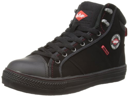 comparamus lee cooper workwear sb boot chaussures de s curit adulte mixte noir black 42 eu. Black Bedroom Furniture Sets. Home Design Ideas