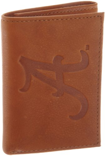NCAA Alabama Crimson Tide Embossed Trifold Wallet at Amazon.com
