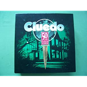 Cluedo Deluxe 50th anniversary edition!