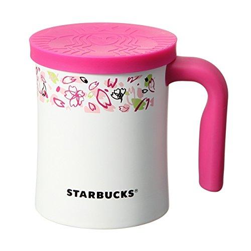 starbucks coffee スターバックス コーヒー ステンレス ロゴキャップマグ さくら 2015 12oz (350ml)