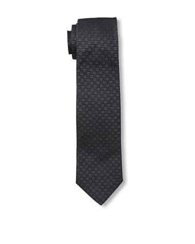 Givenchy Men's Squares Tie, Black/Grey