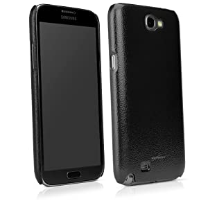 Strong, Hard Shell Case for Samsung Galaxy Note 2 - Nero Black: Cell