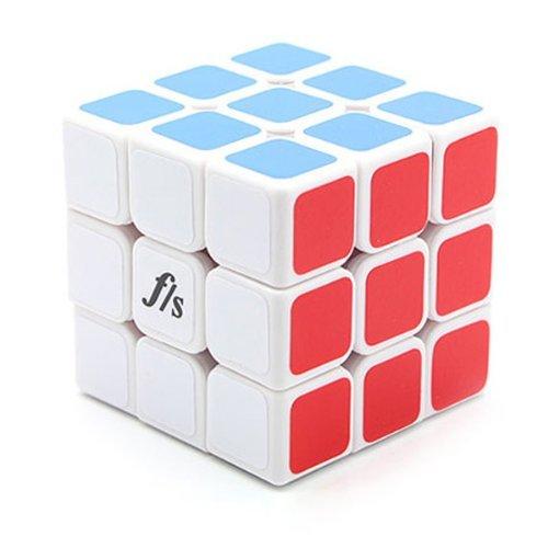 Fangshi Shuang Ren V2 3x3x3 57mm White Speed Cube Puzzle FUNS 3x3