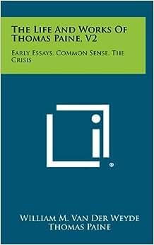 Common-Sense Thomas Paine Summary