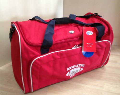 large-sports-bag-red-school-college-travel-holdall-samsonite-american-tourister
