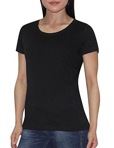 pack-of-2-liz-claiborne-womens-short-sleeve-t-shirt-l-black-dark-blue
