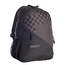Wildcraft Knight Black Casual Backpack (8903338007883)