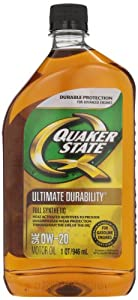 Quaker state 550024141 6pk 0w 20 ultimate for Quaker state conventional motor oil