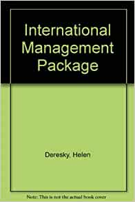 international management managing across borders and cultures 7th edition 2018年5月2日 test bank for international management: managing across borders and cultures,  text and cases 9th global edition by helen deresky.